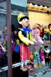 Marionetka sklep w mieście Praga Obraz Royalty Free