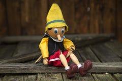 marionette Arkivbild