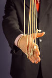 Marionette businessman Stock Image