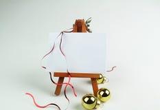 Marionette 3d mit Megaphon Lizenzfreies Stockfoto