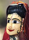 Marionette de India Jaipur Foto de Stock Royalty Free