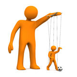 Marionette Football Stock Photos