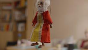 marionette Grekisk färgrik docka Royaltyfri Bild
