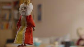 marionette Grekisk färgrik docka Arkivfoton