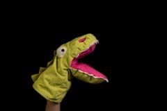 Marionette an Hand Lizenzfreie Stockbilder