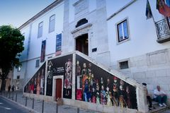 Marionette Museum in Lisboa - Portugal Stock Photography