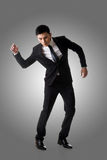 Marionette pose man stock photo