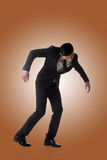 Marionette pose man stock images