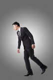 Marionette pose man royalty free stock images