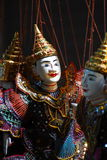 Marionette Puppet of southeast asia Royalty Free Stock Photos