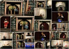 Marionette theatre. Prague Stock Photos