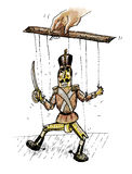 Marionette (Vektorformat) Lizenzfreie Stockfotos