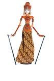 Marionette von Bali Stockbilder