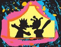 Marionetten royalty-vrije illustratie