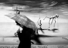 Marionetten eines abschließenden Spiels Stockfotos