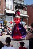 Marionetten-Parade Stockbild