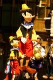 Marionetten in Praag Stock Foto