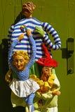 Marionetten in Prag Stockbild