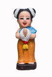 Marionetten Thaise vrouwen royalty-vrije stock foto's