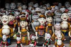Marionetten in Vietnam stock foto's