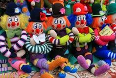 Marionetten voor verkoop Royalty-vrije Stock Foto