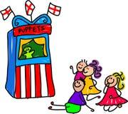 Marionettenerscheinen lizenzfreie abbildung