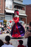 Marionettenparade Stock Afbeelding