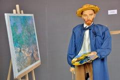 Marionettententoonstelling op de Franse Week van 2014 Royalty-vrije Stock Fotografie