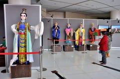 Marionettententoonstelling op de Franse Week van 2014 Stock Fotografie