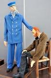 Marionettententoonstelling op de Franse Week van 2014 Royalty-vrije Stock Afbeelding