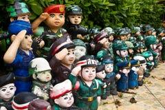 Marionettentroepen Stock Afbeelding