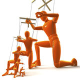 Marionettes, Figures Royalty Free Stock Image