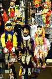 The marionettes of Prague royalty free stock photo