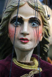 marionettestående Arkivbild