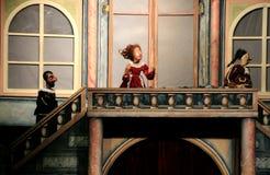 marionettetheatre Arkivfoto