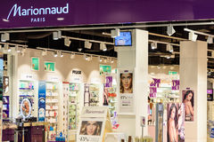 Marionnaud Parfumeries lager Royaltyfria Bilder