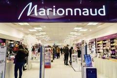 Marionnaud perfumery Royalty Free Stock Image