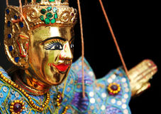 Marionnette photographie stock