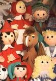 Marionnette-affichez Images stock