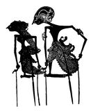 Marionnette d'ombre : Vecteur illustration libre de droits