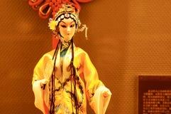 Marionnette d'opéra de Pékin Photos libres de droits