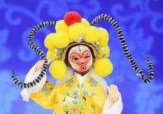 Marionnette d'opéra de Pékin Photo libre de droits