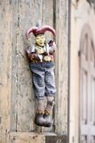 Marionnette de carnaval de joker Image stock