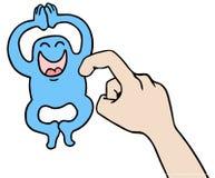 Marionnette de chatouillement Image libre de droits