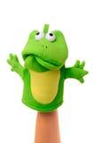 marionnette de main triste Photographie stock libre de droits