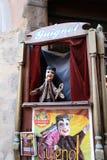 Marionnette de marionnette de Guignol à Lyon Photographie stock libre de droits