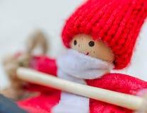 Marionnette de Noël Photo stock