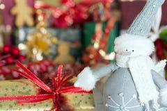 Marionnette de Noël Images stock