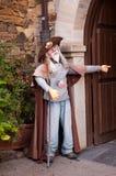 Marionnette de Pilgrimn de la manière de St James Images stock