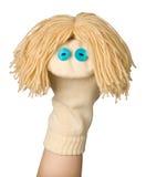 Marionnette drôle Images libres de droits